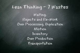 Lean Manufacturing the 7 Wastes