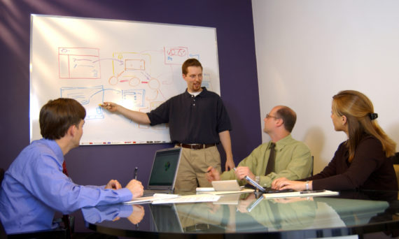 Lean Manufacturing Training Course Attendees - Value Stream Mapping
